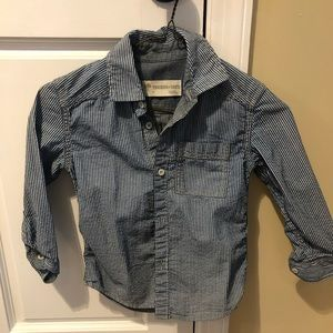 Tucker and Tate Chambray Striped Button Down